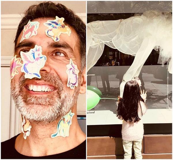 see how akshay kumar fullfill her daughter wish