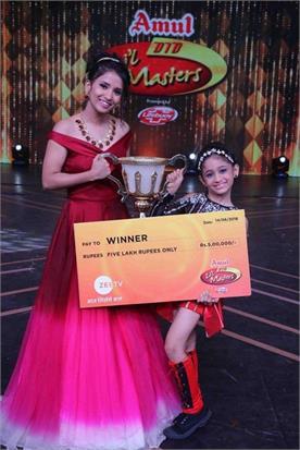 jiya thakur won the did season 4