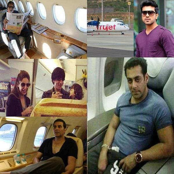 bollywood celebs own private jets