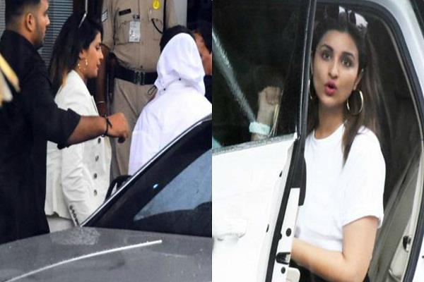 priyanka chopra leaves for goa with boyfriend nick and family