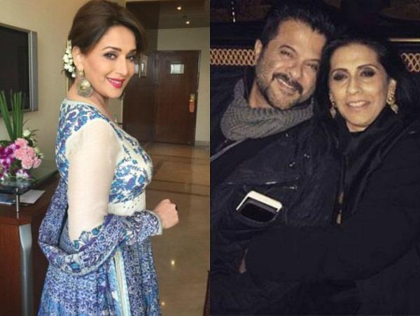 anil kapoor used to call his wife the name of madhuri
