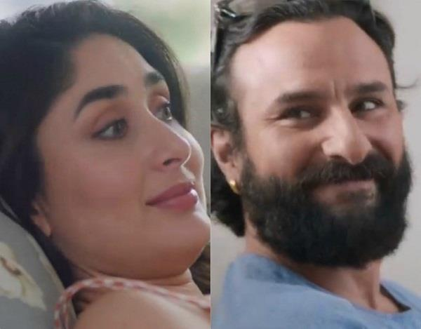 kareena kapoor khan and saif ali khan ad shoot video