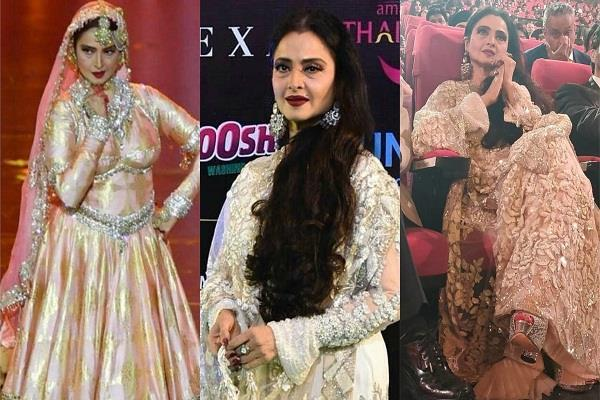 rekha dance performance on iifa awards 2018