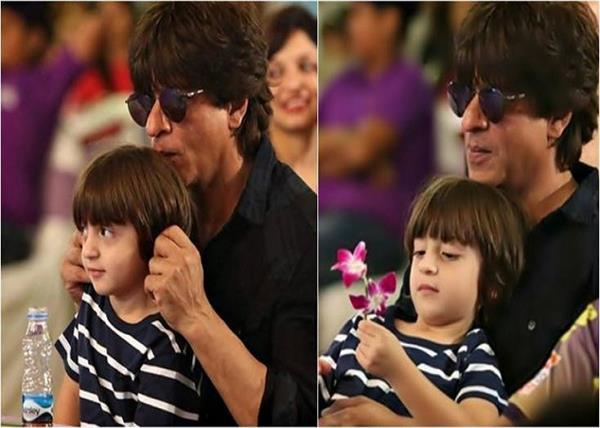 shahrukh khan shares son abram message on fathers day