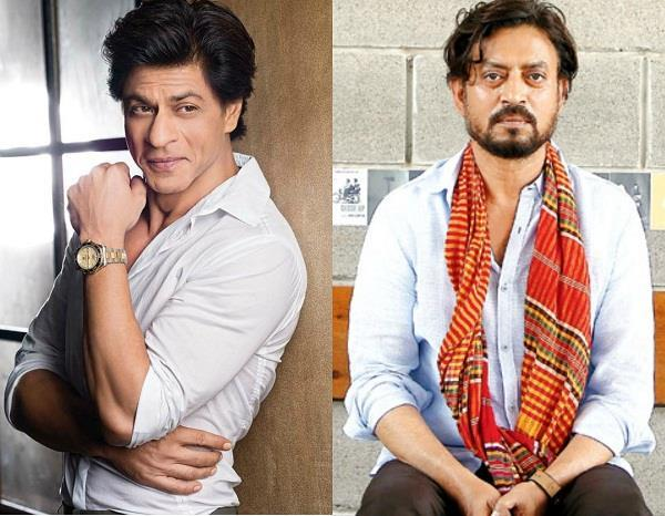 shah rukh khan is helping irrfan khan