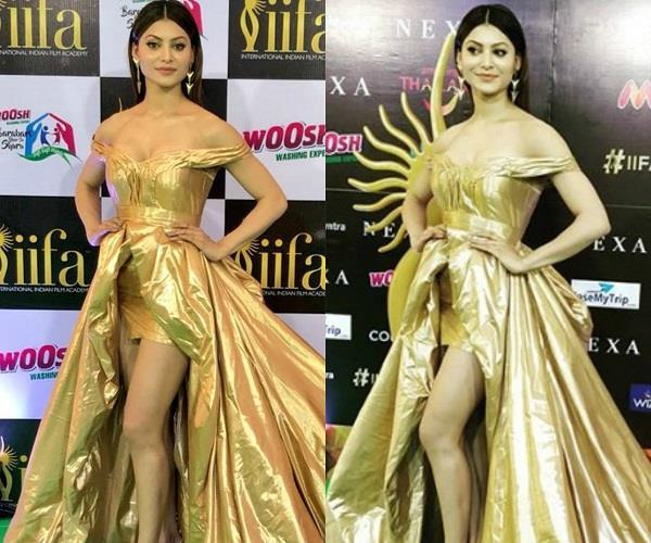 urvashi rautela in iifa awards 2018