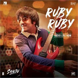 फिल्म 'संजू' का तीसरा गाना 'RubyRuby' हुआ रिलीज़