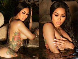 black chyna share hot photo
