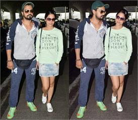 बॉयफ्रेंड रॉकी के साथ एयरपोर्ट पर दिखीं हिना, गोवा में एेसे कर रही हैं सी-फूड एंजॉय