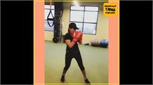 ਦੇਖੋ ਗਾਇਕਾ ਅਨਮੋਲ ਗਗਨ ਮਾਨ ਦਾ Gym Workout