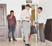 vigilance team from chandigarh received for five hours