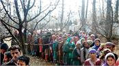 today  s third round of municipal elections in jammu and kashmir