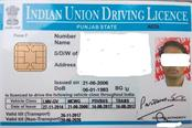 fictitious driving licenses caught before being made due to the disappearance