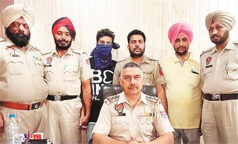 one accused arrested for hurling a policeman