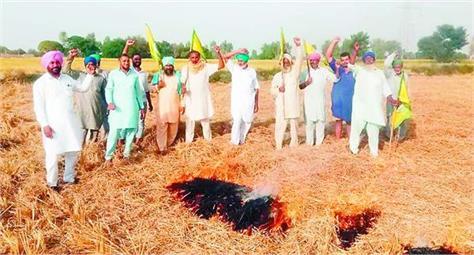 farmers  straw  fire