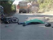 1 death on chandigarh