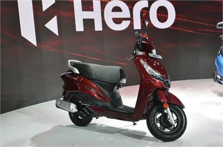 hero destini 125 scooter to challenge honda activa 125