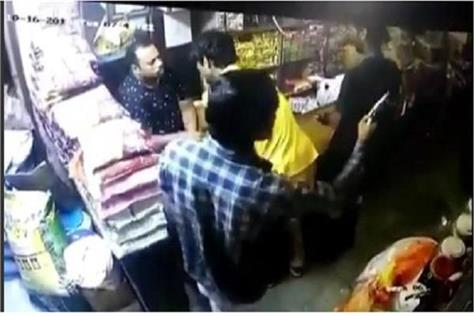 shopkeeper shot by criminals in sonipat