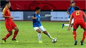 angered the team of chinese fans on draw play with india