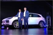 porsche has launched the third generation of the cayenne in india