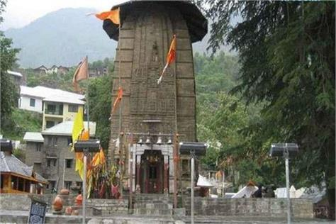 himachal pradesh world only temple