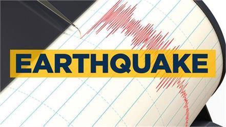 earthquake of magnitude 3 3 hit jammuandkashmir