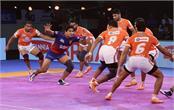 pro kabaddi league  punarri  s return  dabang beat delhi