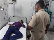 haryana road  2 workers injured