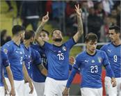 italy triumphed in international football after one year