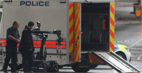 suspicious package found near british parliament  police