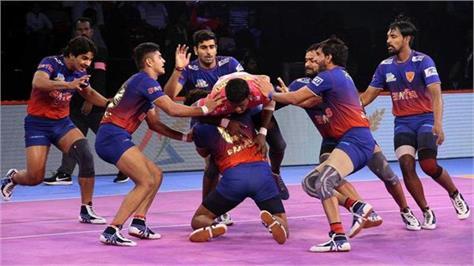 pro kabaddi league  dabangg delhi and haryana stilrs won matches