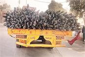 overloaded vehicles are running on the roads