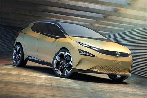 production version of tata 45x car