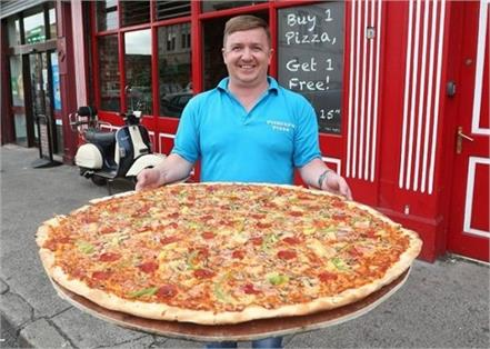 ireland  32 inch pizza