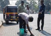 pune cleanliness done on spit