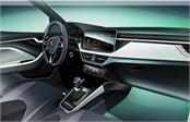 skoda scala hatchback interior officially teased