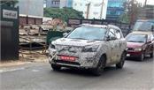 mahindra s201 subcompact suv spotted again