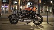 harley davidson revealed its livewire electric bike