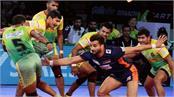 pro kabaddi league  patna win thriller win over bengal warriors