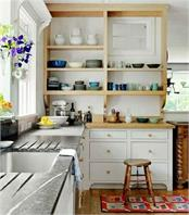 in this way manage small kitchen it will look great