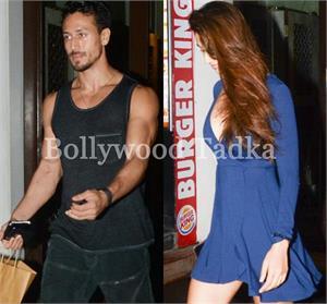 डीप नेक ड्रेस पहन बॉयफ्रेंड टाइगर के साथ दिखीं दिशा, कैमरे को देख किया इग्नोर