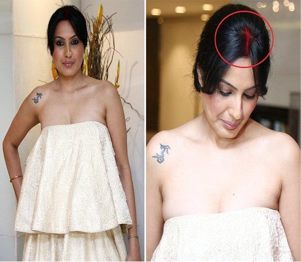 kamya panjabi spotted with sindoor