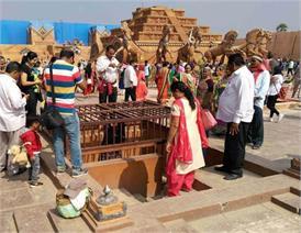 तोड़ा जाएगा 'बाहुबली' का सेट, बनाने में हुए थे 35 करोड़ खर्च