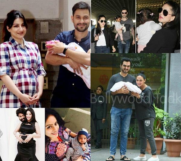 bollywood and tv celebs became parents in 2017