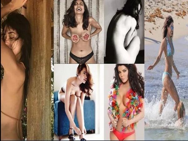 2017 boldest photos of the year topless rakhi esha sunny