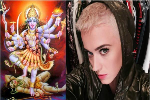 hollywood singer katie shares picture of maa kali