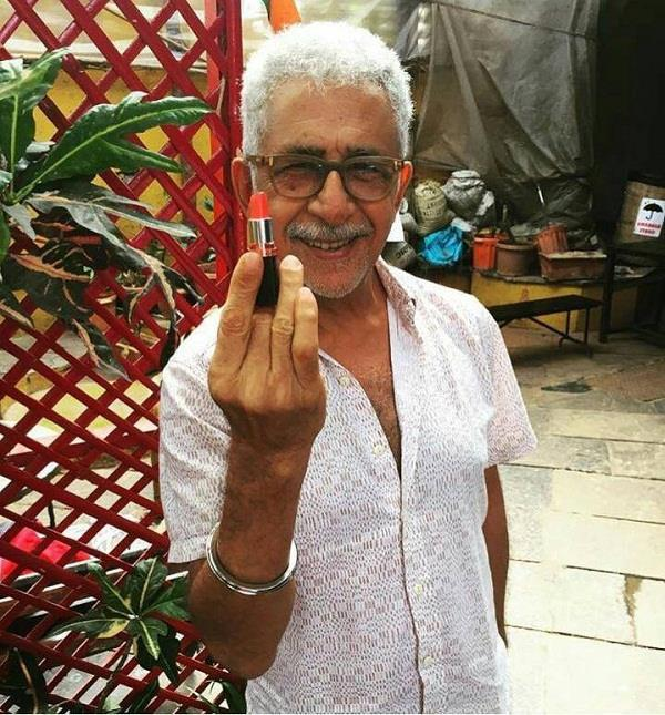this actor now appears in the lipstick middle finger