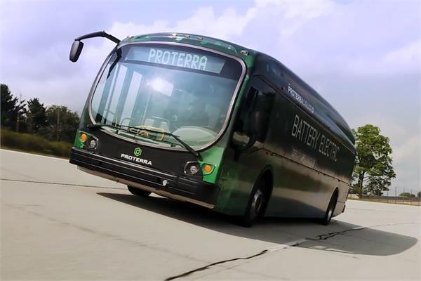 electric bus sets record with 1 101 mile trip on a single charge
