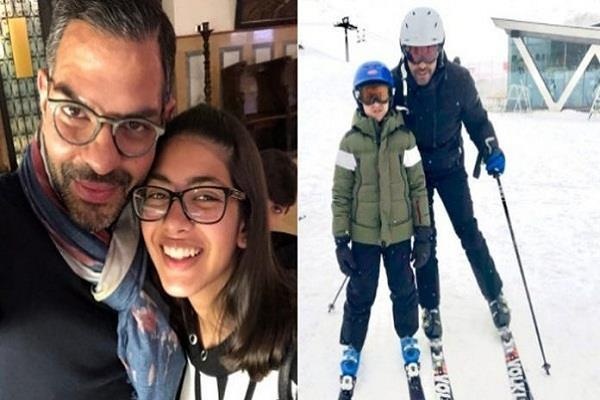 karisma kapoor ex husband sanjay kapur enjoys a vacation with kids