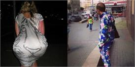 कपड़े पहनते समय इन लोगों के दिमाग छुट्टी पर गए हुए थे, तस्वीरें देख होगी हैरानी